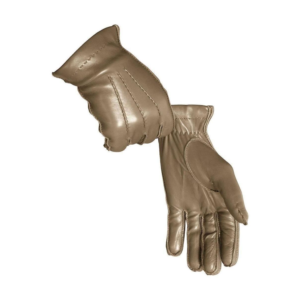 Gants luxe pour Hommes - 10 - Taupe Foncé - Agneau Nappa