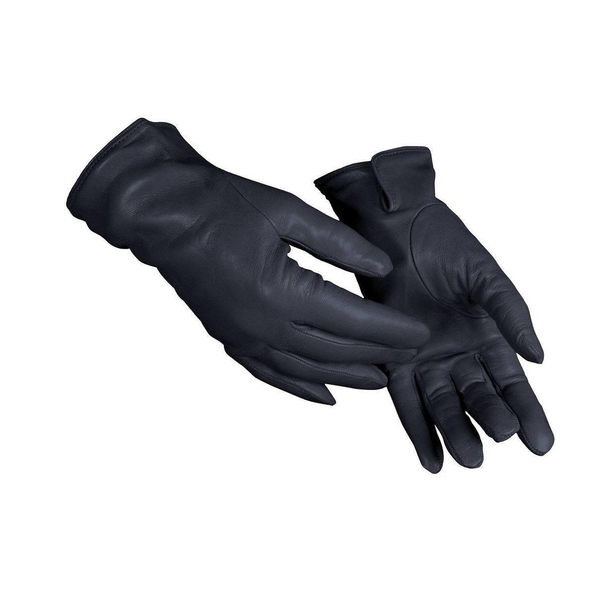 Gants hiver pour femmes - 6.5 - Bleu Marine - Agneau Nappa