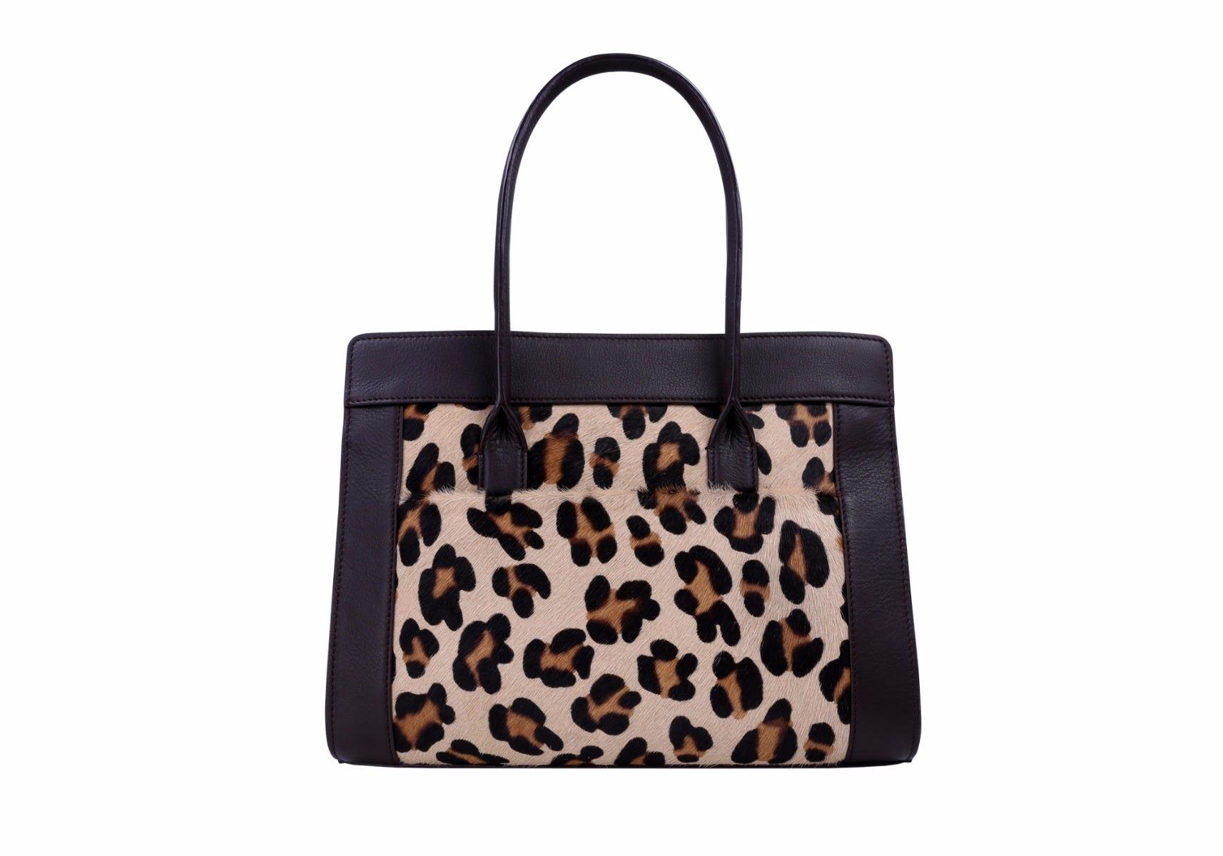 Leopard Tragetasche