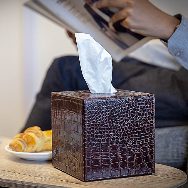 Square Tissue Box Cover