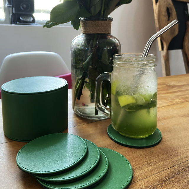 Set of 12 coasters